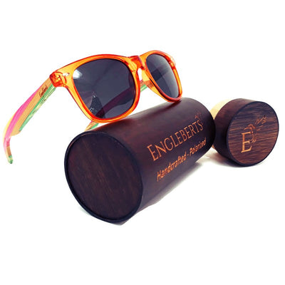 Sunrise East - Colored Bamboo Sunglasses