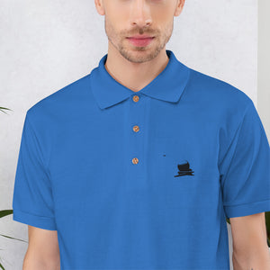 Embroidered Golf Ball Polo Shirt