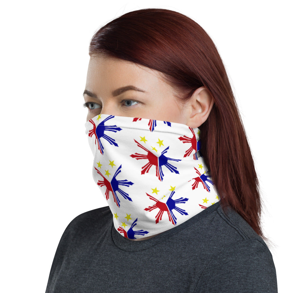 3 STARS AND A SUN DESIGN FACE MASK Neck Gaiter