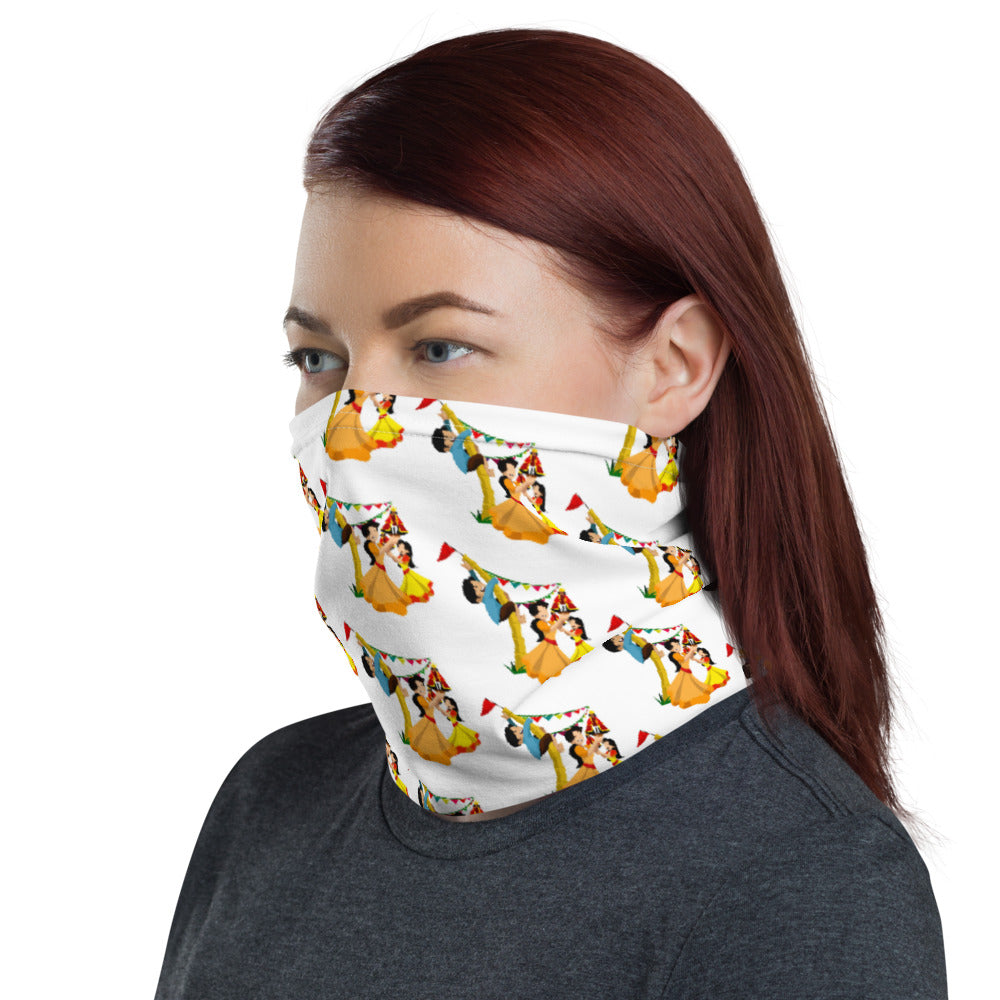 PHILIPPINE CELEBRATIONS AND TRADITIONS DESIGN FACE MASK Neck Gaiter