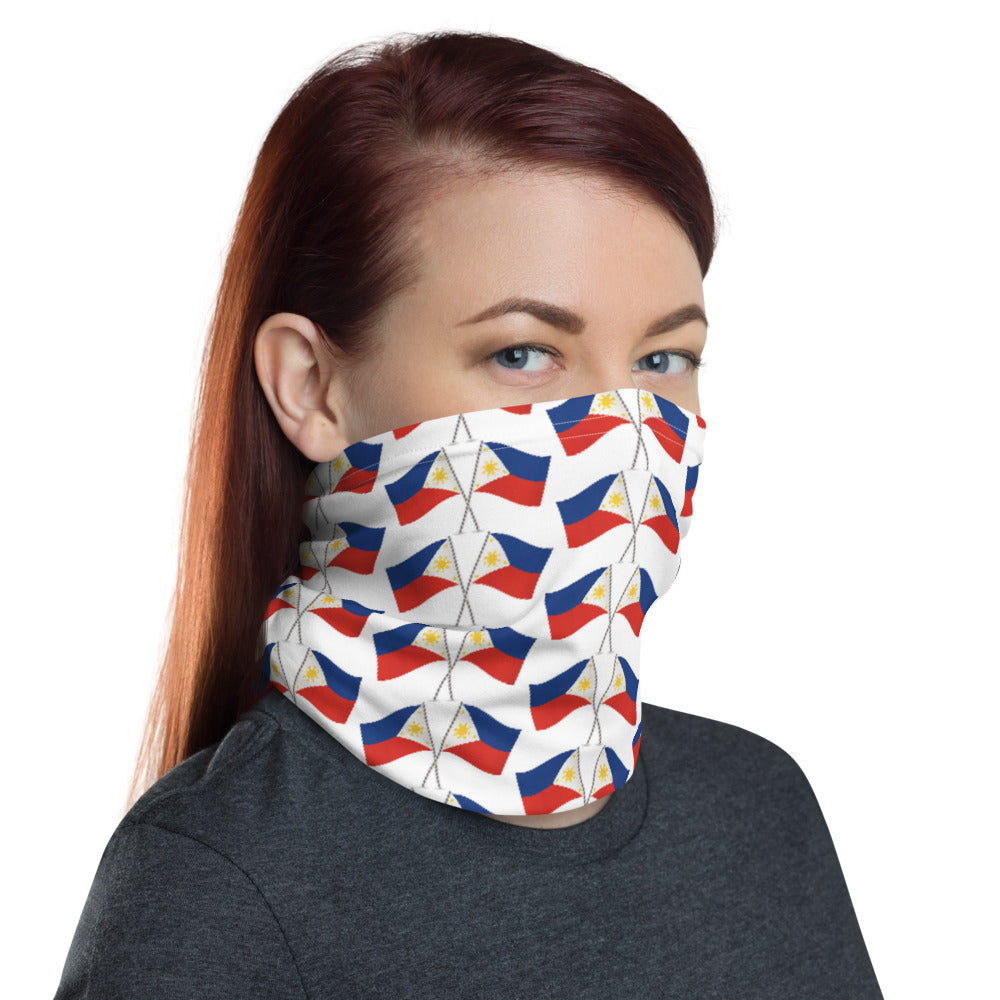2 FLAGS DESIGN FACE MASK Neck Gaiter