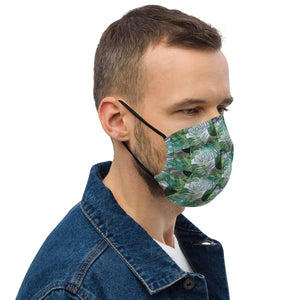 Green Leaf Design Premium face mask