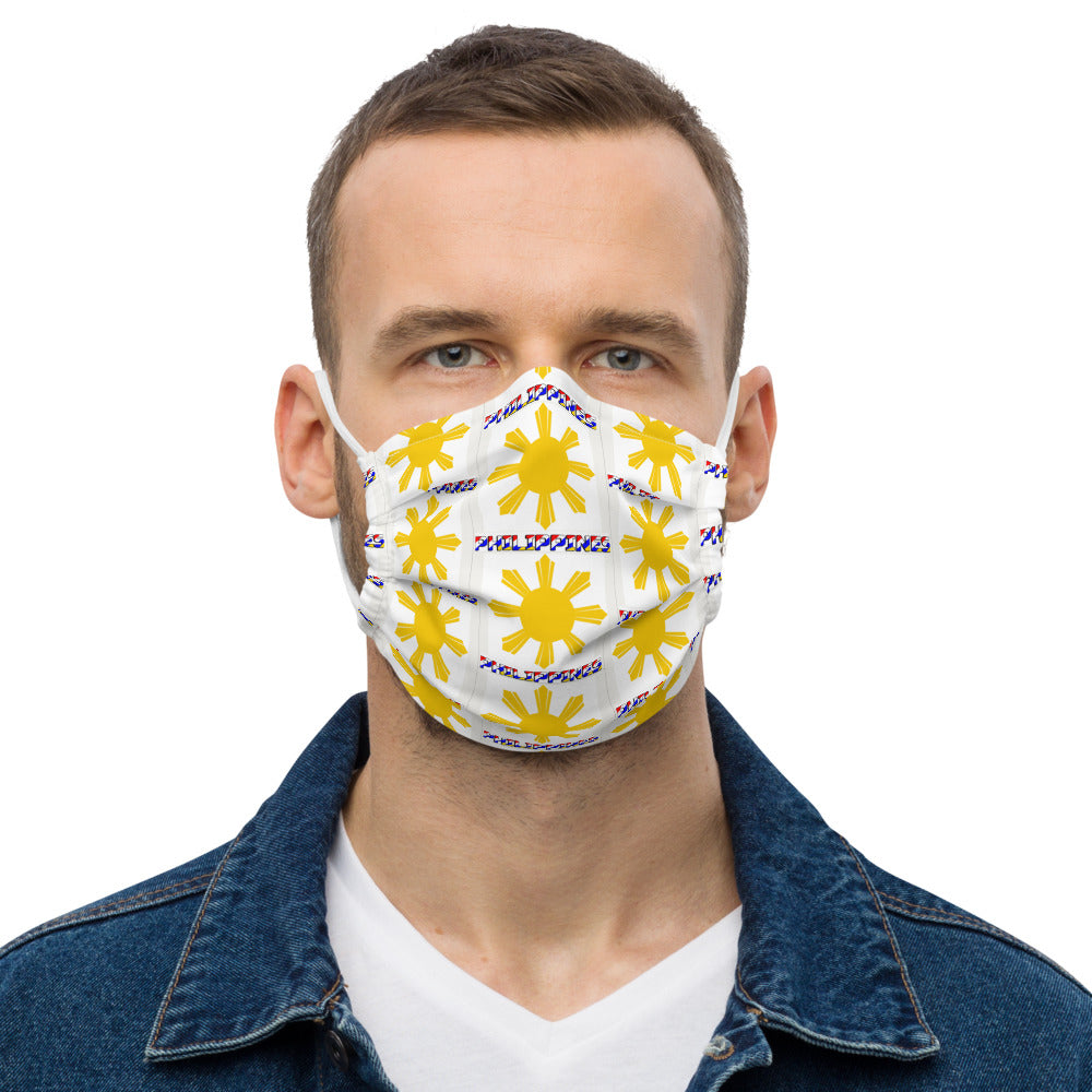 PHILIPPINES FILIPINODESIGNS FILIPINO PROUDPINOY PRIDE PILIPINAS PROUDFILIPINO PROUD CULTURE MYCOUNTRY Premium face mask