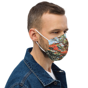 "Beautiful Scenery "" Trees "" Design Premium face mask"