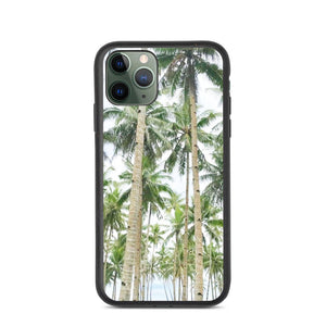 BEAUTIFUL TREES DESIGN Biodegradable phone case