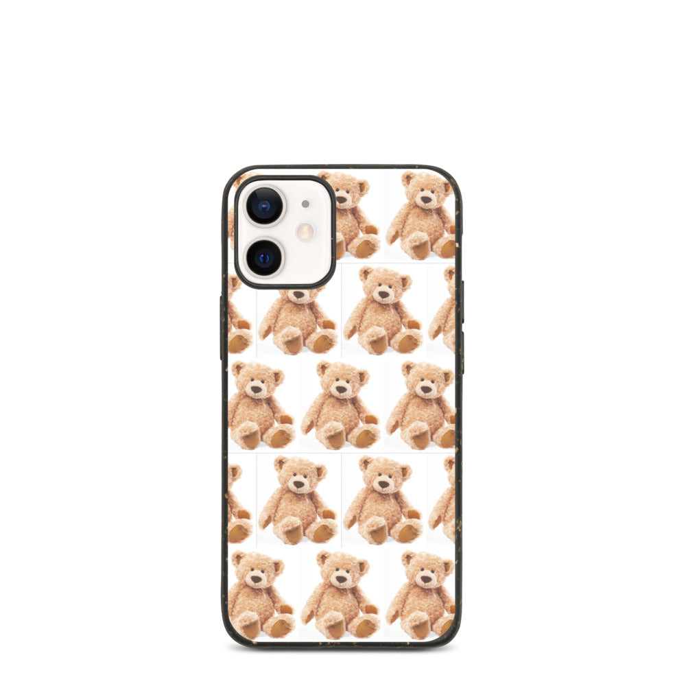 CUTE TEDDY BEAR DESIGN Biodegradable phone case
