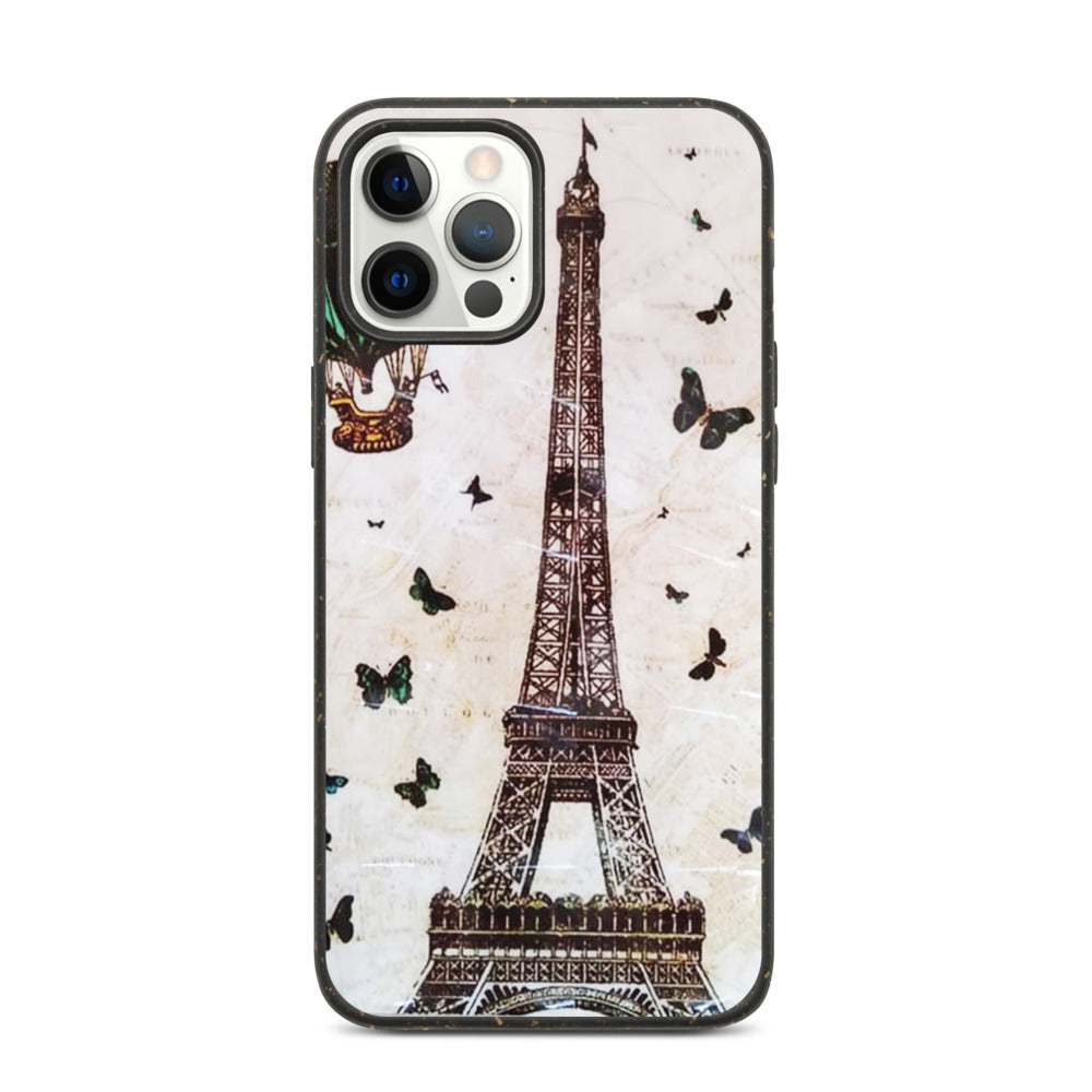 EIFFEL TOWER DESIGN Biodegradable phone case