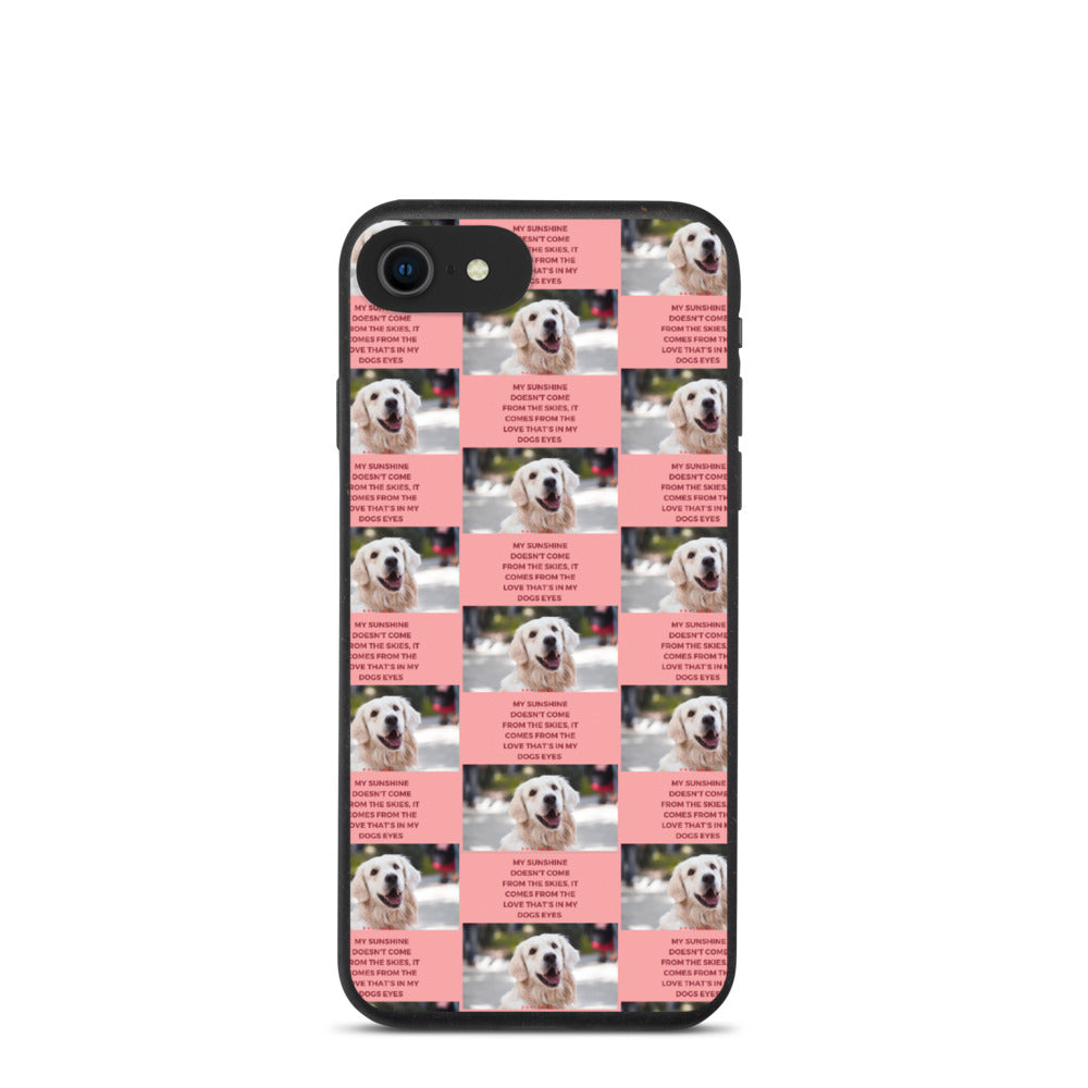 ADORABLE AND CUTE DOG DESIGN Biodegradable phone case