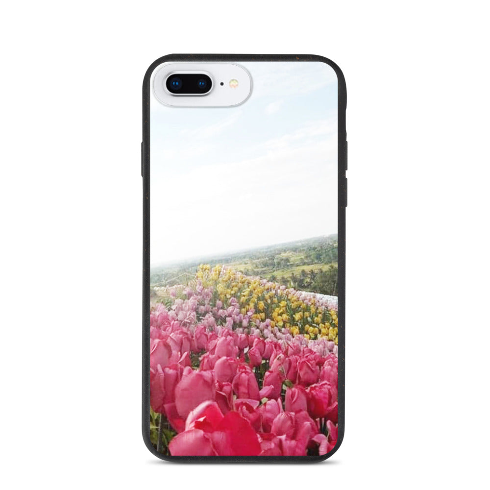 FLOWER GARDEN DESIGN Biodegradable phone case