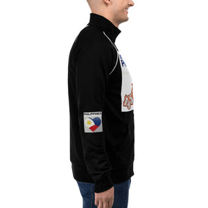 PHILIPPINES FILIPINO PINAS PILIPINAS PINOY Piped Fleece Jacket