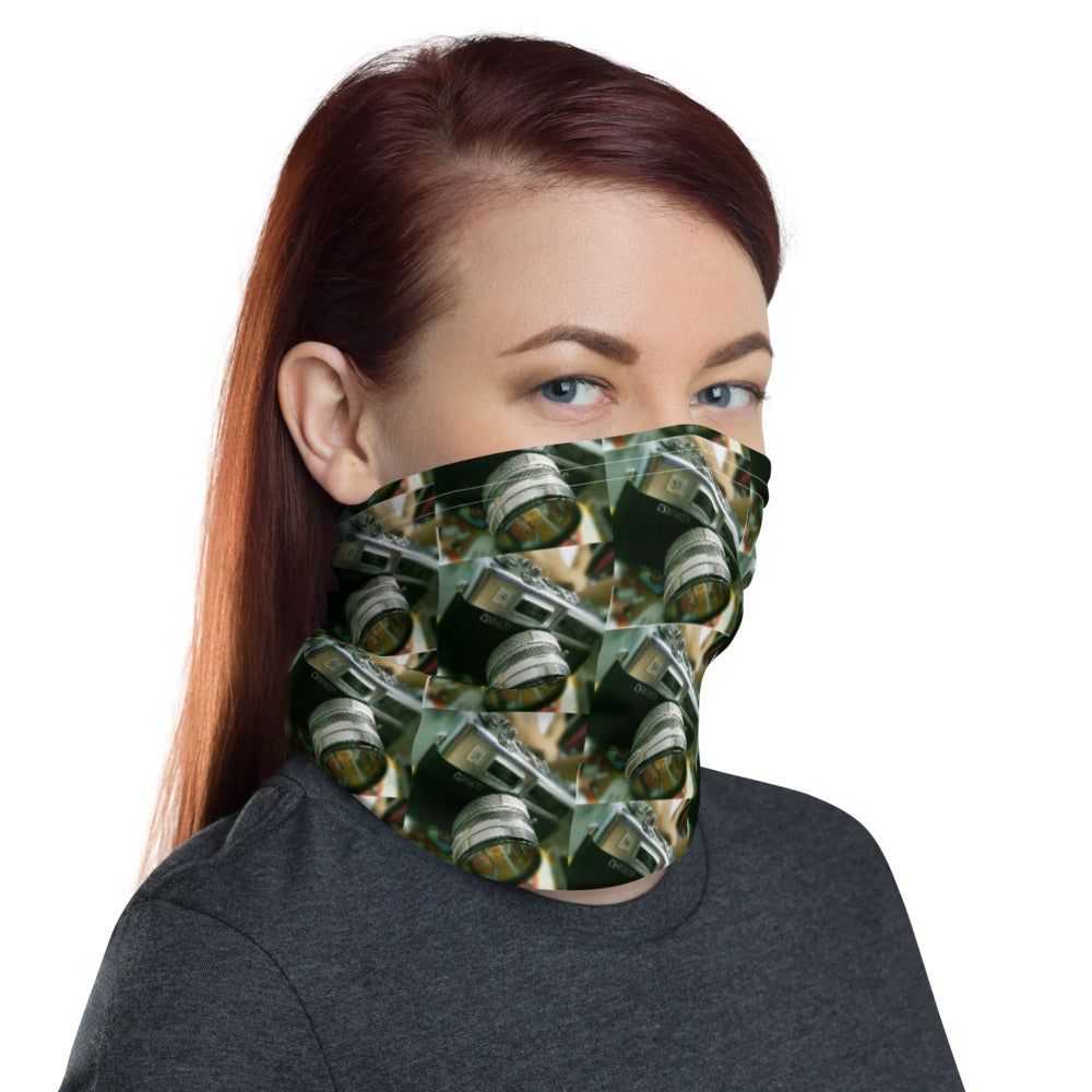 Camera Design Face Mask Neck Gaiter