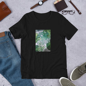 Green Leaves Design Short-Sleeve Unisex T-Shirt