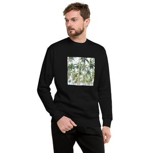Trees Design Unisex Fleece Pullover