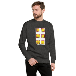 Sunflower Design Unisex Fleece Pullover