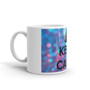 """ Keep Calm "" Design Mug"
