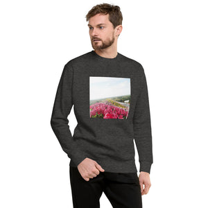 Flower Garden Design Unisex Fleece Pullover
