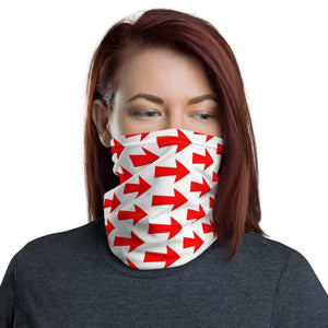 Arrow Design Face Mask Neck Gaiter