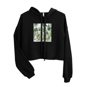BEAUTIFUL TREES SCENERY DESIGN Crop Hoodie