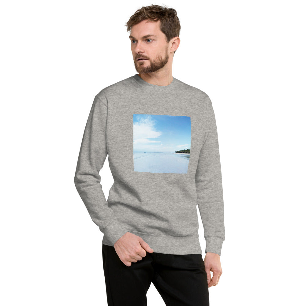 Water Scenery Design Unisex Fleece Pullover