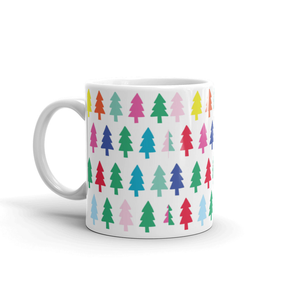 Cute Christmas Trees Mug