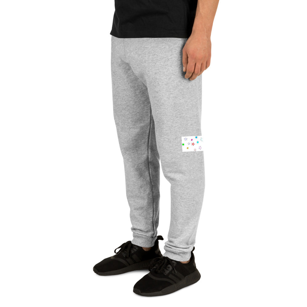 Colorful Stars Design Unisex Joggers