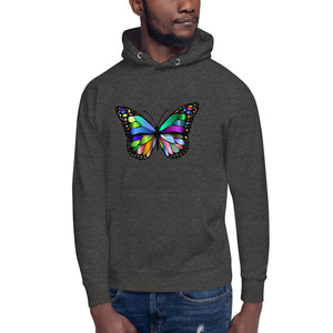 Butterfly Design Unisex Hoodie
