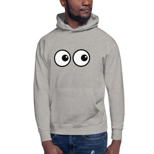 "I Can See You "" Eyes "" Design Unisex Hoodie"
