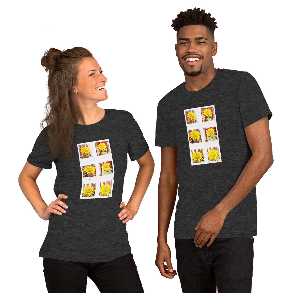 Sunflower Design Short-Sleeve Unisex T-Shirt