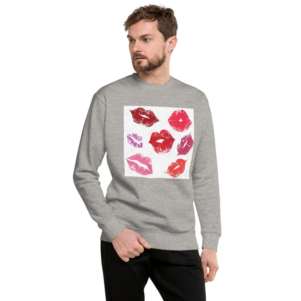 Kisses Design Unisex Fleece Pullover
