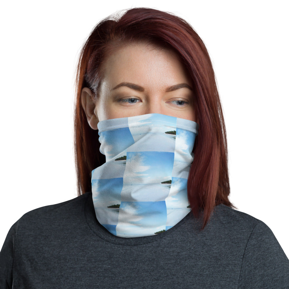 Water Scenery Design Face Mask Neck Gaiter