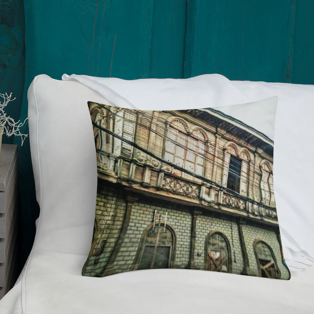 Heritage House Design Premium Pillow
