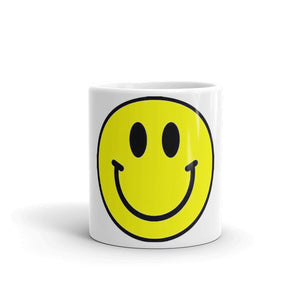 Smiley Face Design Mug