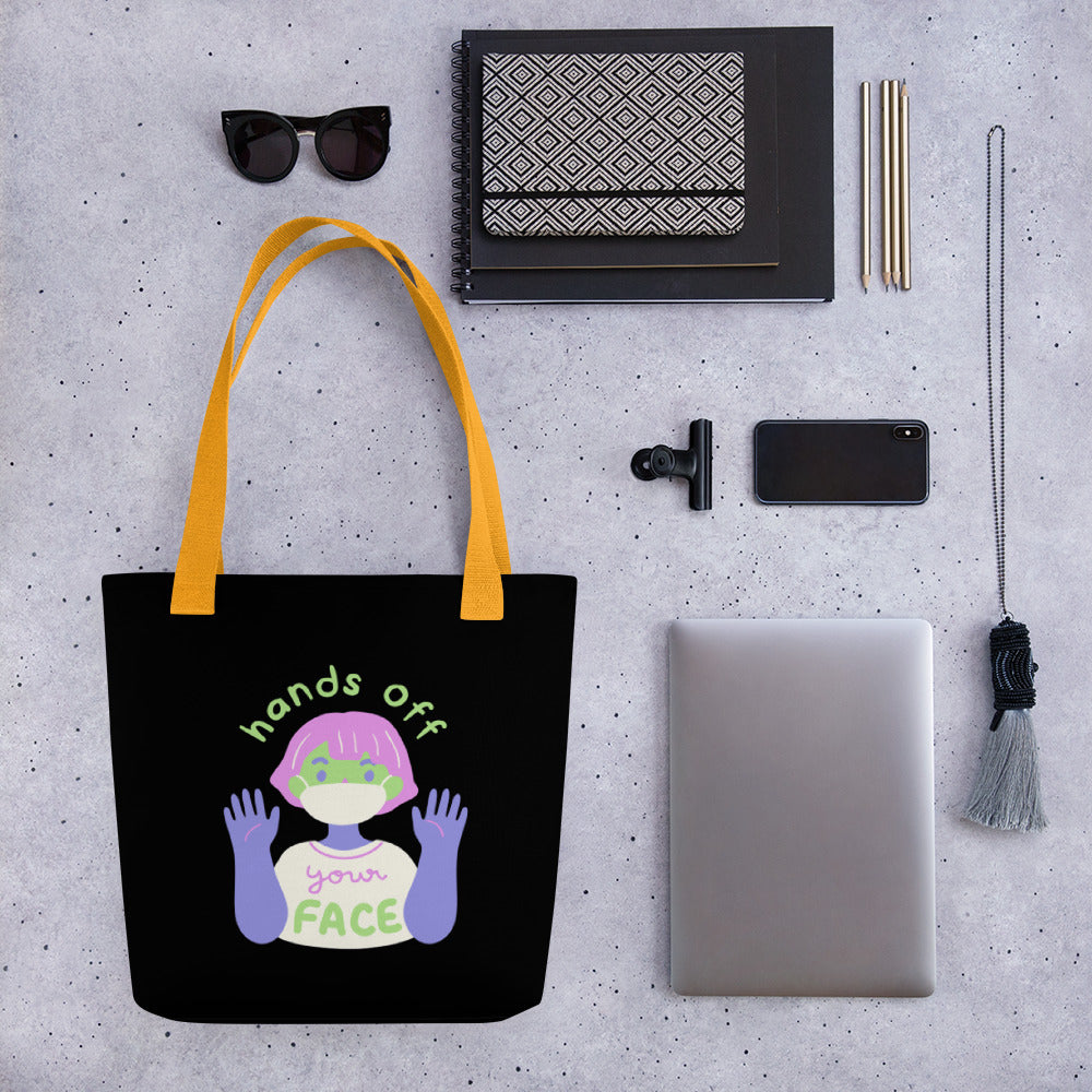 HANDS OFF Tote bag