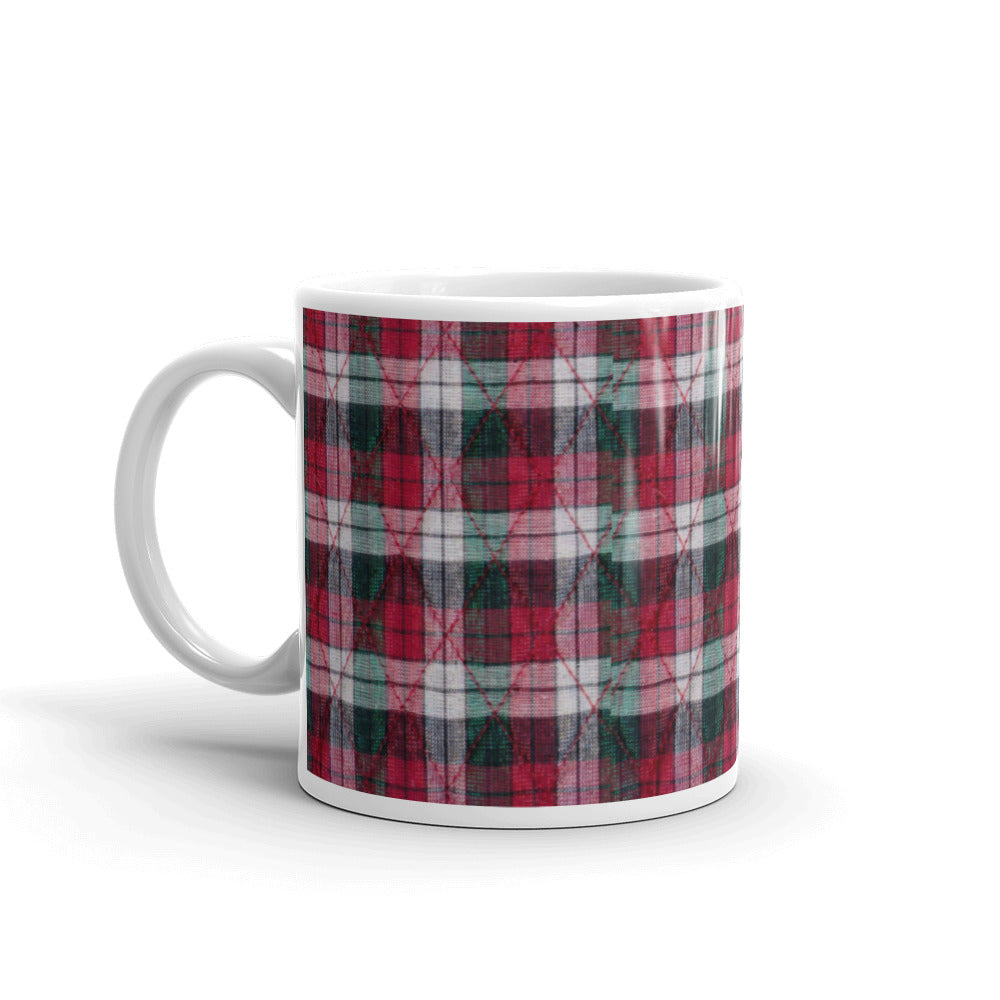 Christmas Plaid Design Mug