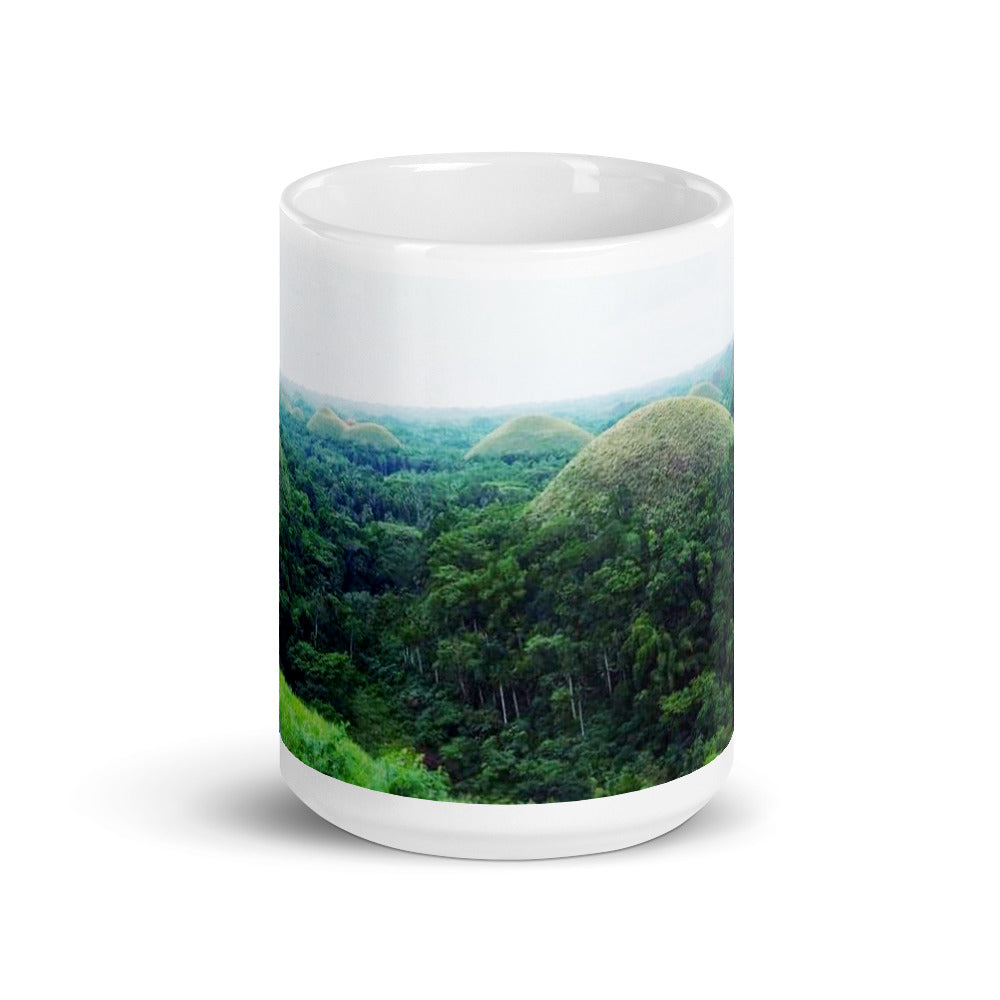 Chocolate Hills Design Mug