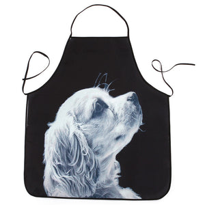 Apron Christmas Decoration Waterproof Dinner Party Apron for kitchen Cooking High Quality Apron dog puppy