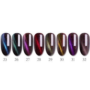 70% OFF LULAA Nail Art Nail Polish 7Pcs/Set Shell Gel Nail Polish And Top Coat UV LED Gel Polish Semi Permanent Professional 2019 Apr25