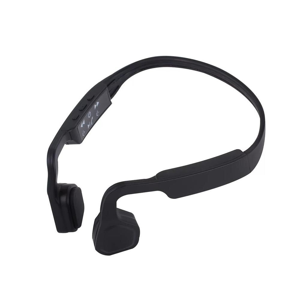 Professional S-18 Sport Headset Over The Ear Headphone Bone Conduction Handsfree Noise Reduction Running Headset
