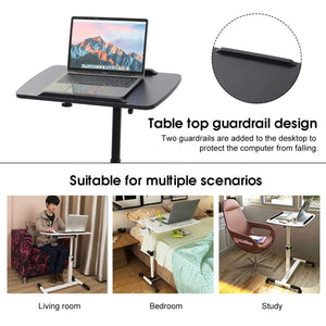Foldable Removable Laptop Table Bed Desk Notebook Stand Table Bedside Sofa Bed Adjustable Portable Computer Bedside Sofa Bed