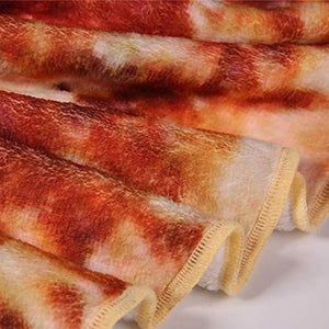 Mexican Burritos Blankets 3D Flannel Blanket Pizza Cobija for Bed Air Condition Coperta Throw Mat Fleece Throw Bedspread xmas