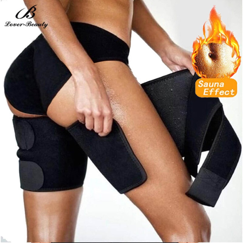 Leg Shaper Sauna Sweat Thigh Trimmers Legs Thermo neoprene