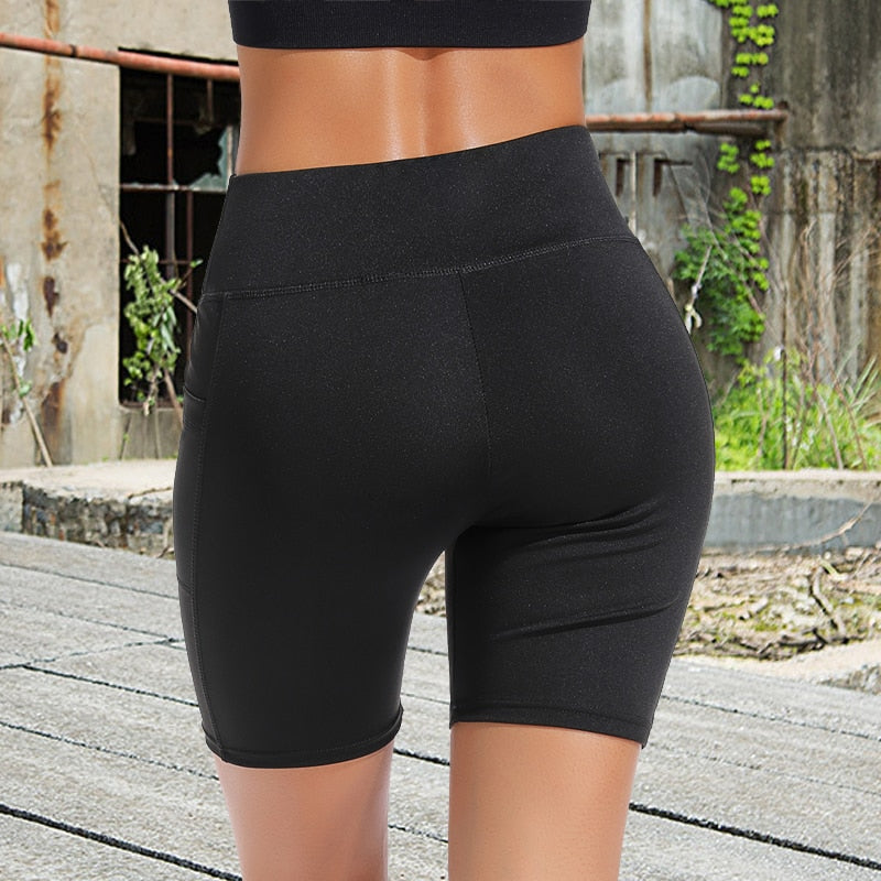 Yoga Sport Shorts Women Gym Fitness Summer Spandex Workout Leggings