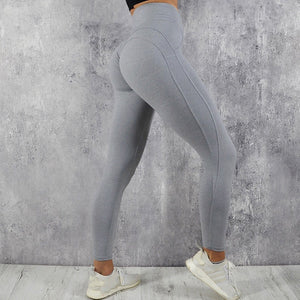 Yoga Pants Sport Leggings Women Sport Fitness V Shape Legging Push Up Scrunch Leggings Pants Female Running Tights