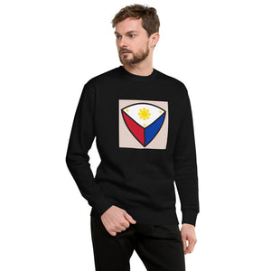 Cute Philippine Flag Design Unisex Fleece Pullover