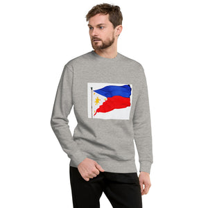Philippine Flag Design Unisex Fleece Pullover