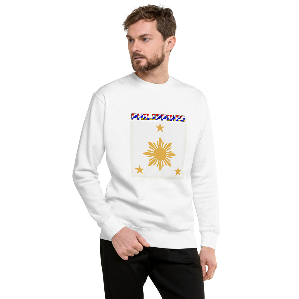 3 Stars and a Sun Design Unisex Fleece Pullover