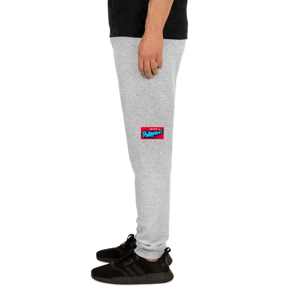 """ WELCOME TO PHILIPPINES "" PRINT DESIGN Unisex Joggers"
