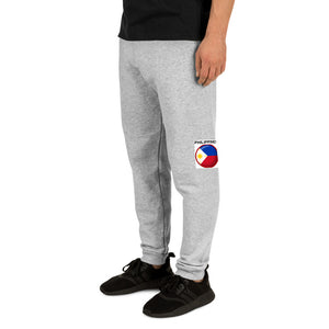 PHILIPPINE FLAG IN A ROUND SHAPED DESIGN Unisex Joggers