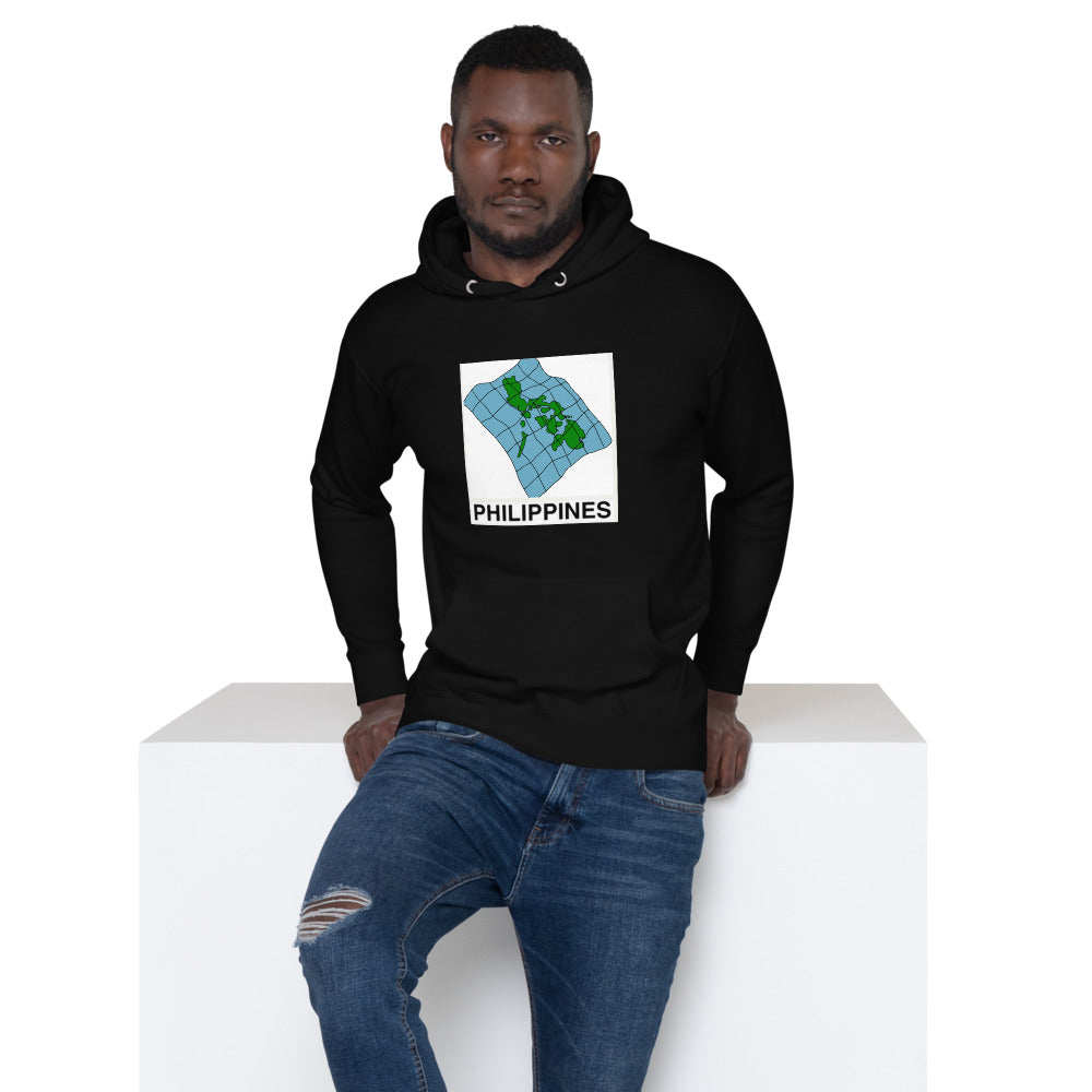 Philippine Map Design Unisex Hoodie