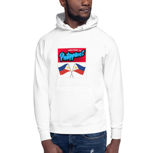 Welcome to Philippines Print Design Unisex Hoodie